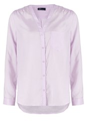 Gap Blouse Gauzy Lilac Rose