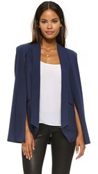 Mason By Michelle Mason Cape Jacket Navy