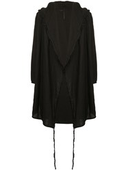 First Aid To The Injured Scapha Cardigan Black
