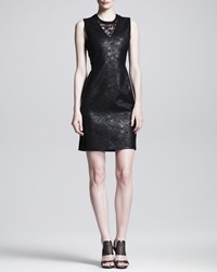 Reed Krakoff Lace Front Shift Dress 10