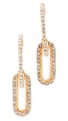 Elizabeth Cole Charlisle Earrings Crystal