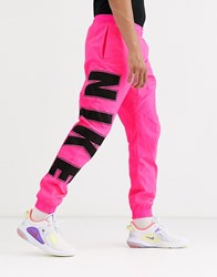 Nike Overbranded Jogger In Pink