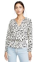 Rails Marti Top Ivory Cheetah