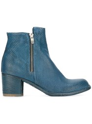 Officine Creative Varda Ankle Boots Blue