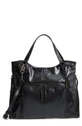 Vince Camuto Narra Leather Tote Black Noir