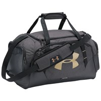 Under Armour Storm Undeniable 3.0 Small Duffel Bag Black Gold