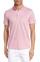 Ted Baker Men's London Zobelle Chevron Polo
