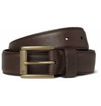 Mulberry Dark Brown 3.5Cm Full Grain Leather Belt