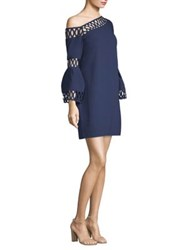 Laundry By Shelli Segal One Shoulder Shift Dress Midnight