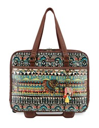 Sakroots Artist Circle Mobile Tote Natural
