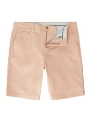 Linea Oakley Chino Shorts Washed Pink