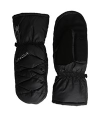 Spyder Candy Down Mitten Black 1 Extreme Cold Weather Gloves
