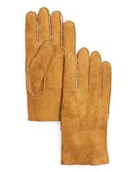 The Men's Store At Bloomingdale's Lambskin Gloves With Fur Lining Natural