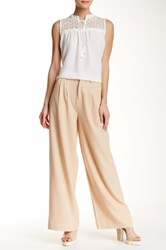 Romeo And Juliet Couture Wide Leg Trouser Beige