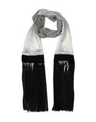 By Malene Birger Accessories Oblong Scarves Women White