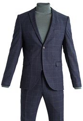 Selected Homme Shxone Tadwick Suit Blue Nights Dark Blue