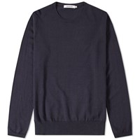 Nonnative Dweller Crew Knit Blue