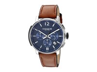 Coach Bleecker Chrono Leather Matte Navy Watches