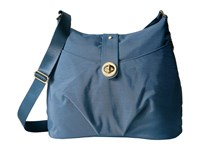 Baggallini Helsinki Bagg Slate Blue Cross Body Handbags