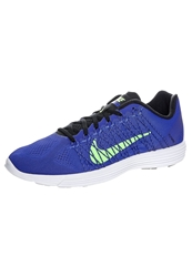Nike Performance Lunaracer 3 Lightweight Running Shoes Lyon Blue Flash Lime White Black
