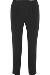 Brunello Cucinelli Crepe Tapered Pants Charcoal