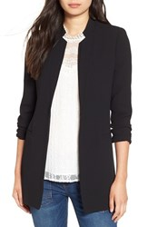 Astr Women's Notch Collar Blazer