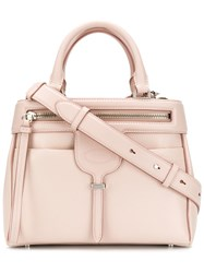 Tod's Thea Small Tote Bag Pink