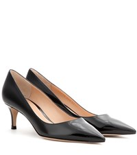 Gianvito Rossi Mytheresa.Com Exclusive Patent Leather Pumps Black