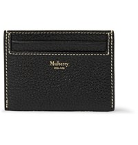 Mulberry Full Grain Leather Cardholder Black