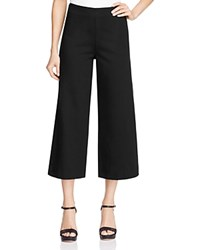 Three Dots Callista Ponte Crop Pants Black
