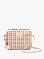 d359802ab7 Radley Mells Manor Leather Small Zip Around Cross Body Bag Blush