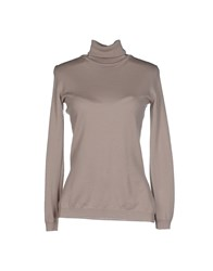 Alviero Martini 1A Classe Knitwear Turtlenecks Women Beige