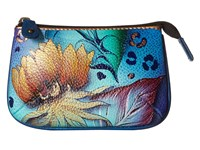 Anuschka 1107 Tropical Dream Coin Purse Blue