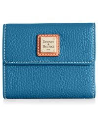 Dooney And Bourke Pebble Small Flap Wallet