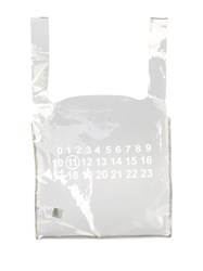 Maison Martin Margiela Printed Clear Tote Bag 60
