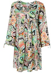 Paul And Joe Floral Print Dress Multicolour