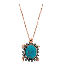 Bee Goddess Turtle Opal Necklace Female