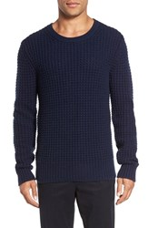 Vince Men's Chunky Wool And Cashmere Sweater Coastal