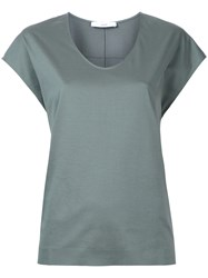 Astraet Scoop Neck T Shirt Green