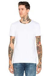 Scotch And Soda Classic Crewneck Tee White