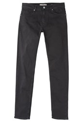 Mango Alexx Slim Fit Jeans Black Black Denim