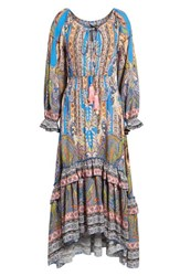 Kas 'S New York Ronda Paisley Print Maxi Dress Pasiley Print