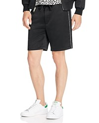 Marc Jacobs Satin Suiting Shorts Jet Black