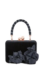 Sophia Webster Vivi Top Handle Bag Black Midnight
