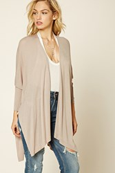 Forever 21 Contemporary Side Slit Cardigan