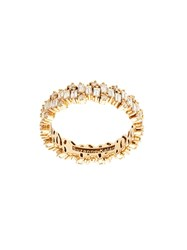 Suzanne Kalan 18Kt Rose Gold Fireworks Diamond Eternity Band