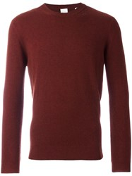 Paul Smith Crew Neck Jumper Red