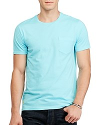 Polo Ralph Lauren Custom Fit Cotton Tee French Turquoise