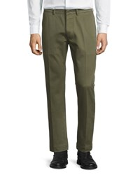 Tom Ford Classic Chino Pants Olive