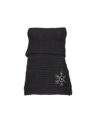 Just For You Sleeveless Sweaters Black